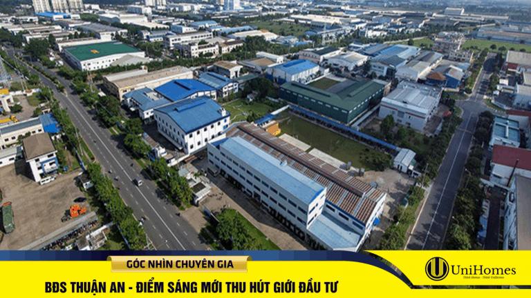 Thuận An đang là điểm sáng thu hút đầu tư từ các doanh nghiệp trong và ngoài nước