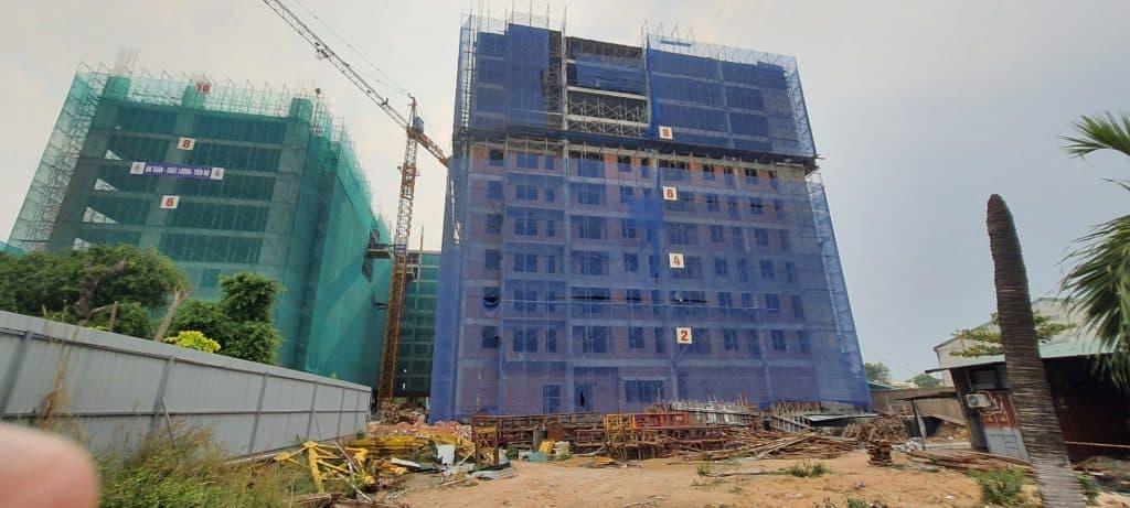 tiến độ dự án parkview apartment tháng 5/2021