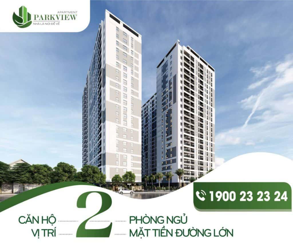 ParkView Apartment là dự án căn hộ xanh nổi bật tại Thuận An - Bình Dương với mức giá hấp dẫn và hàng loạt tiện ích hiện đại.