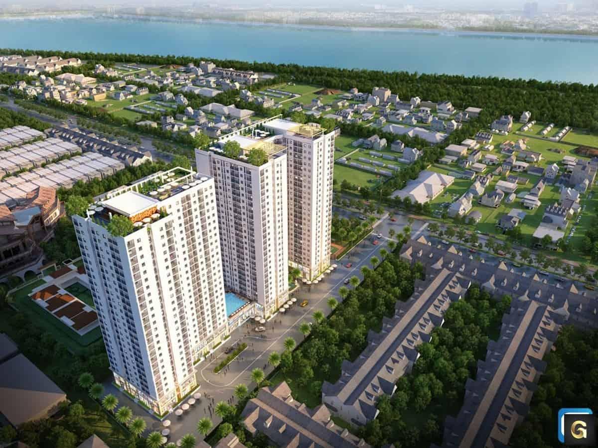 Toàn cảnh dự án Parkview Apartment