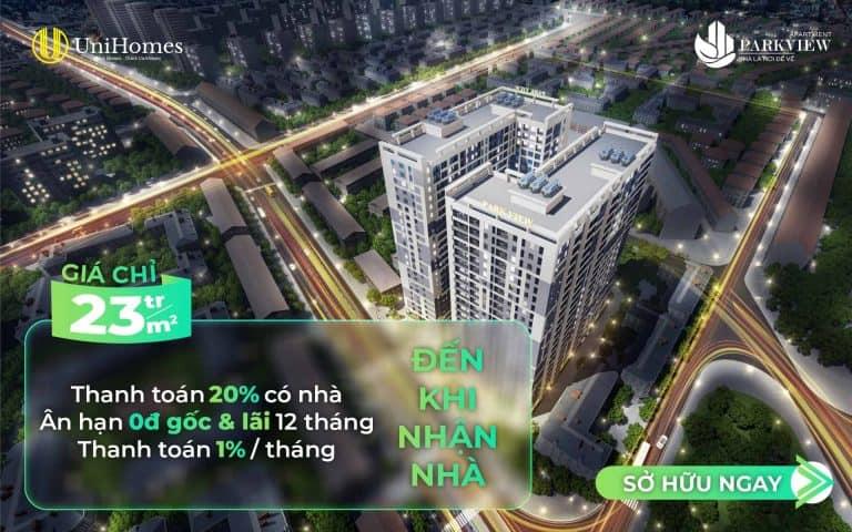 Dự án căn hộ Thuận An dưới 1 tỷ