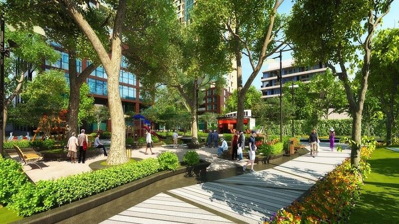 So sánh dự án ParkView Apartment và Roxana Plaza Bình Dương ParkView Iris Cong Vien Vuon Thu Gian 2 rs 1 14